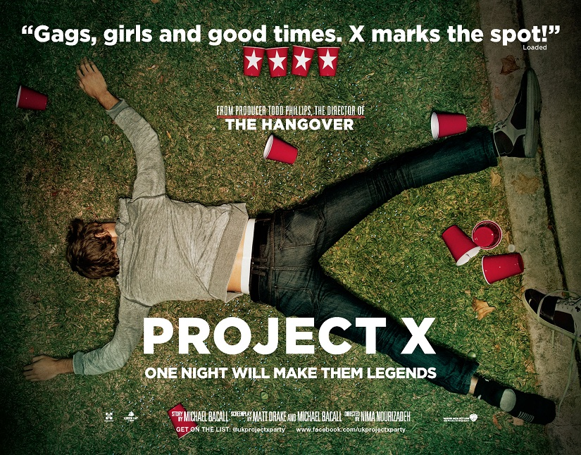 """Brenda goes to the movies: """"Project X"""" – Brenda Forever"""
