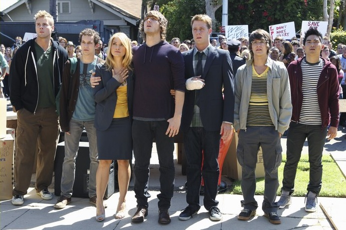 AARON HILL, JACOB ZACHAR, SPENCER GRAMMER, SCOTT MICHAEL FOSTER, JAKE MCDORMAN, DEVON WERKHEISER, DEREK MIO